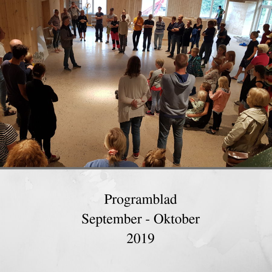 Programblad september-oktober 2019