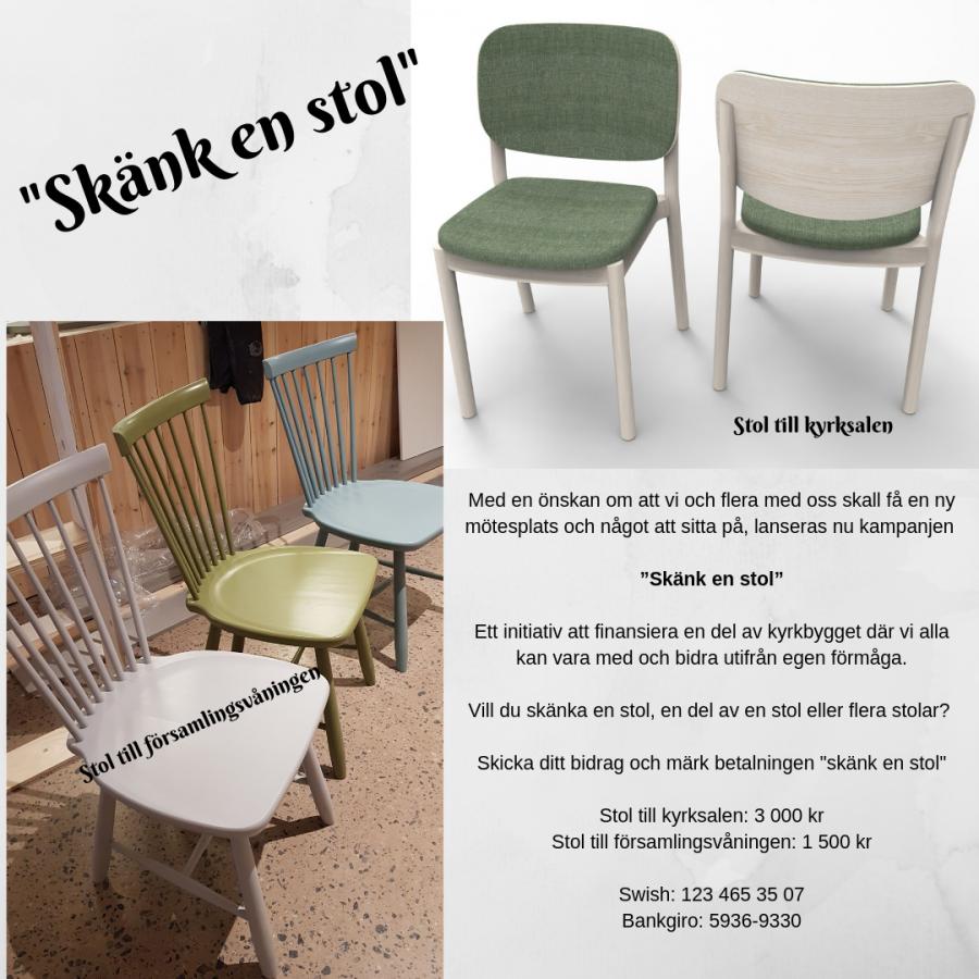 Skänk en stol