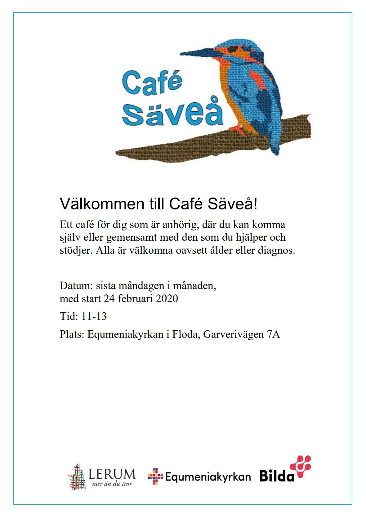 Inställt! Café Säveå @ Equmeniakyrkan Floda