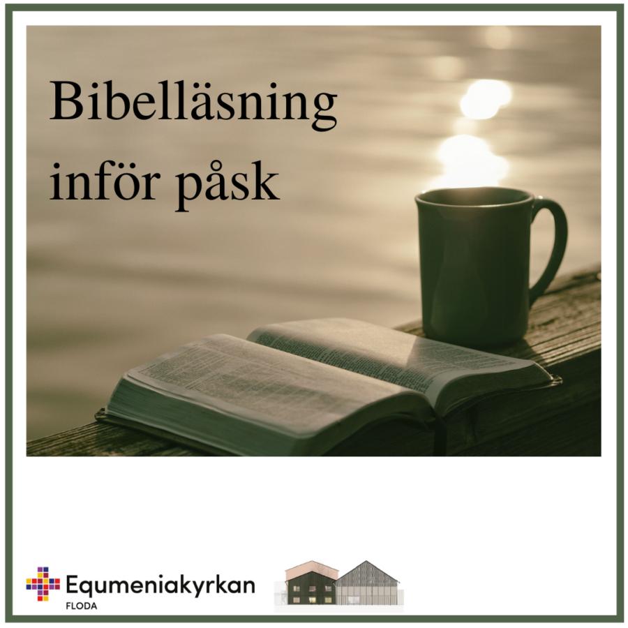 Bibelläsning inför påsk
