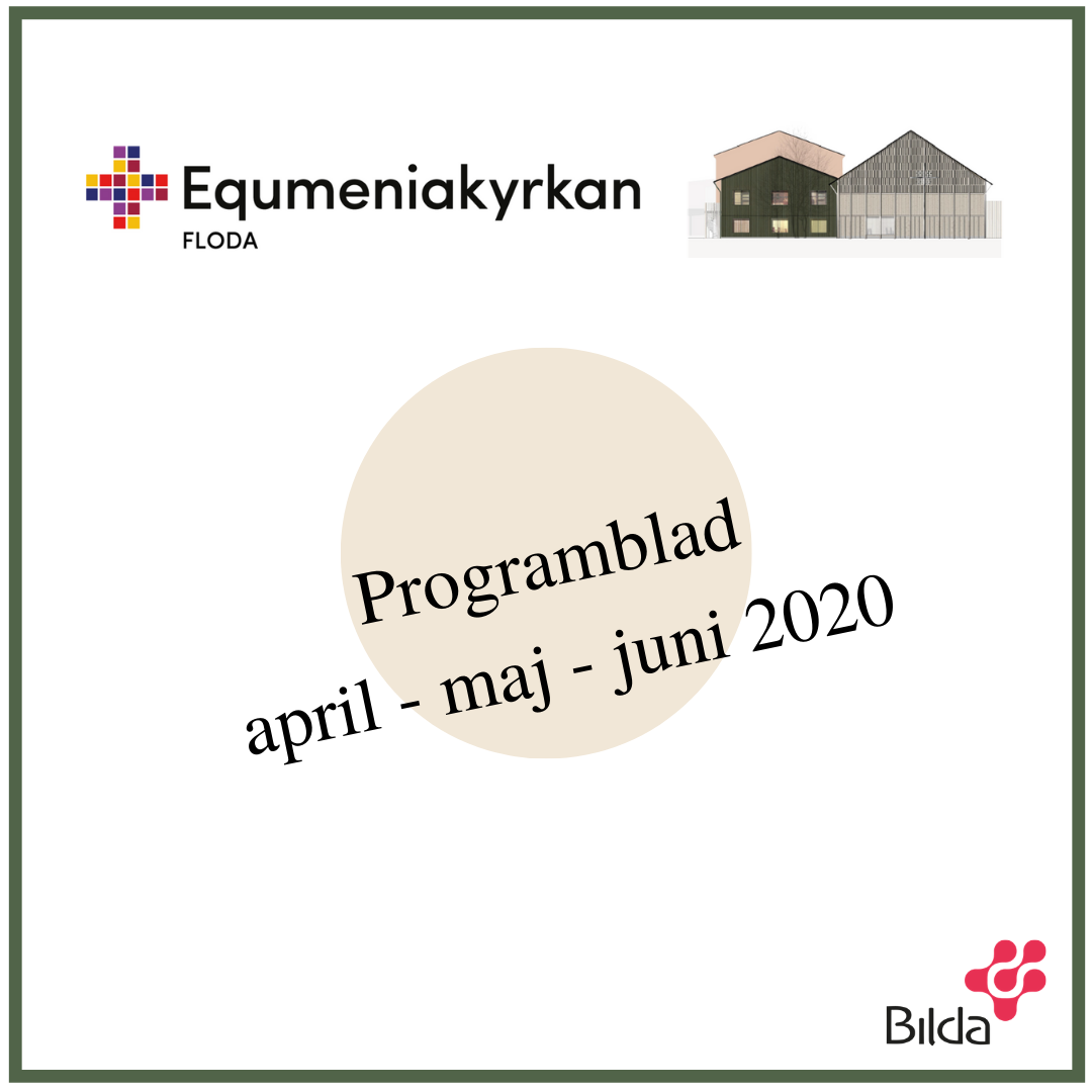 Programblad april – maj – juni