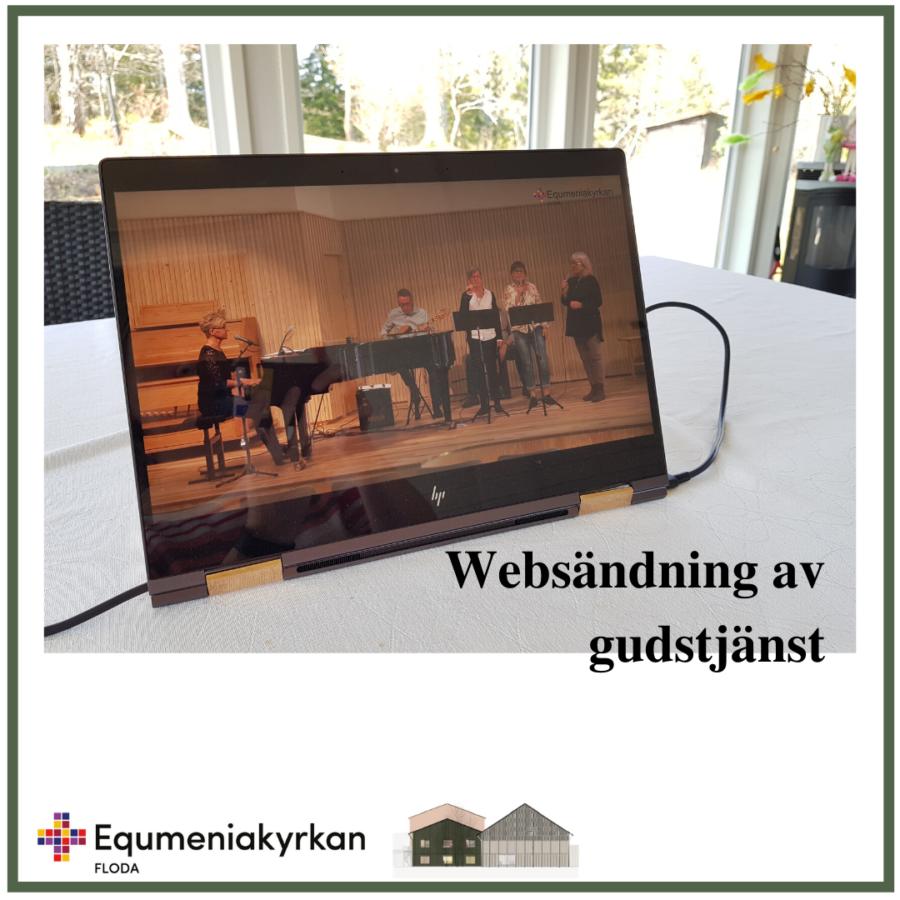 Websändning av gudstjänst