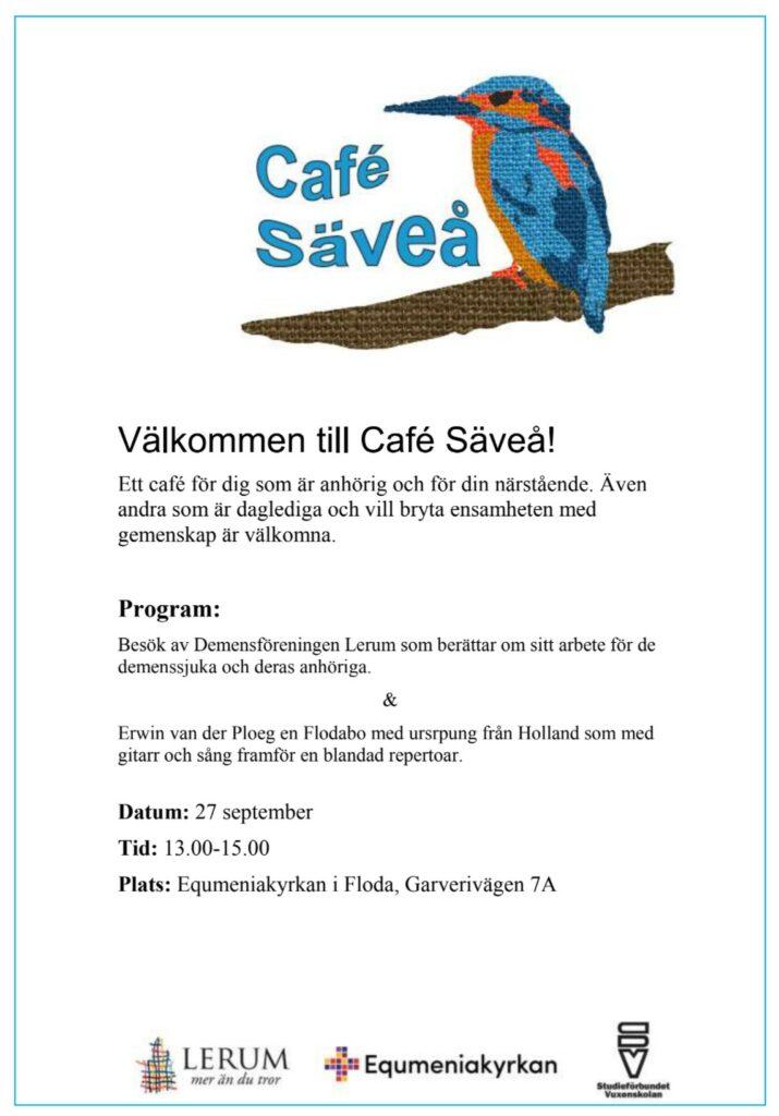 Café Säveå @ Equmeniakyrkan Floda