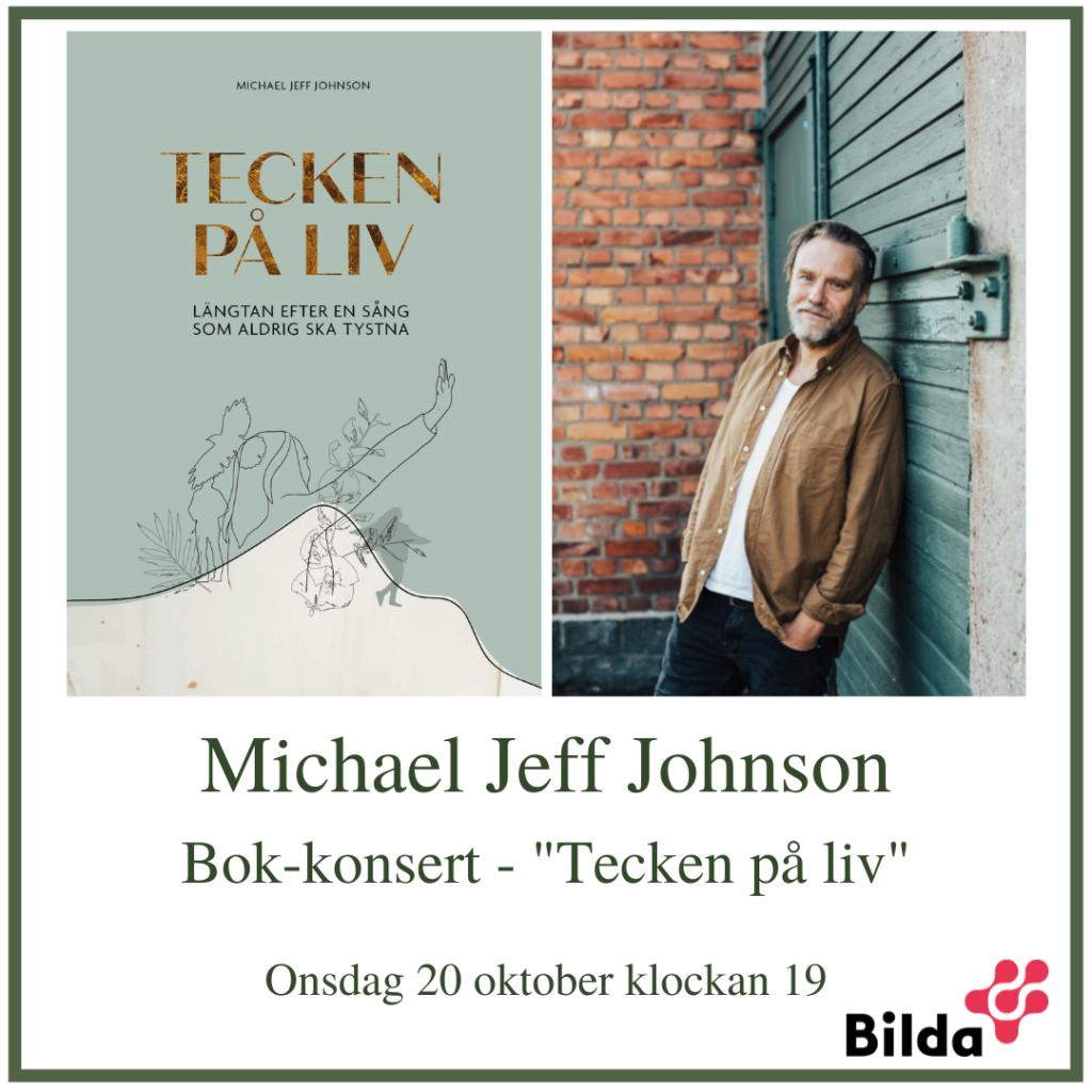 Bok-konsert med Michael Jeff Johnson @ Equmeniakyrkan Floda